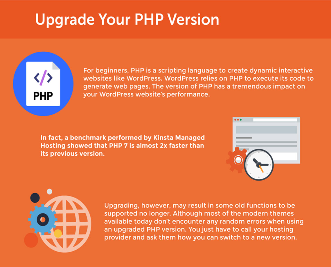 wordpress theme development using php and css, disaster recovery and security hardening