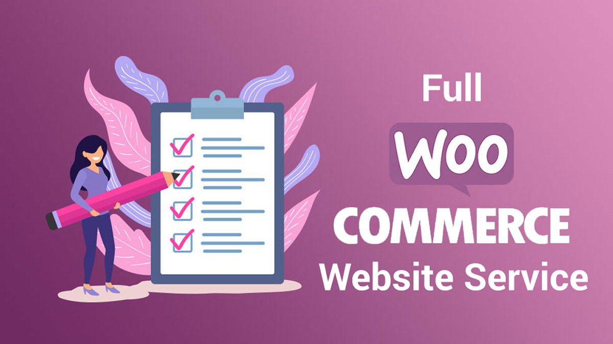 full woocommerce website services, maintenance, security, SEO, audits, malware removal