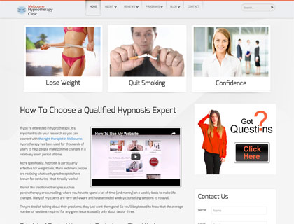 wordpress website designer experienced in wellness and health site building